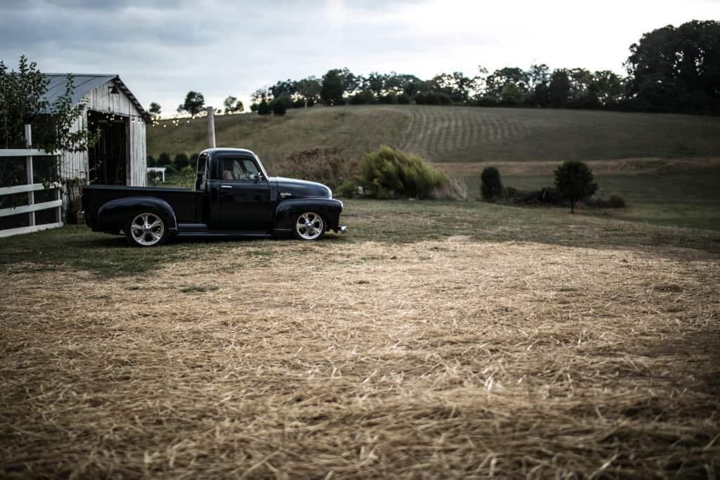 DIY Old truck - Get-a-way car