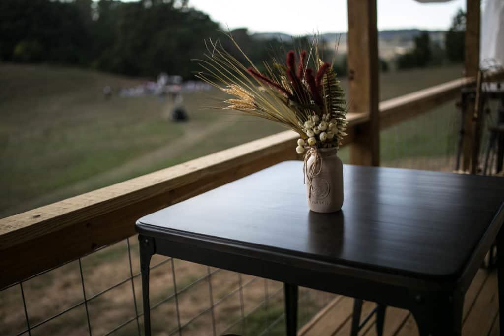 Bar top tables