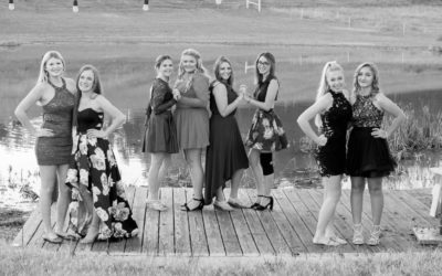 Farm Girls Fall Formal Photo Shoot
